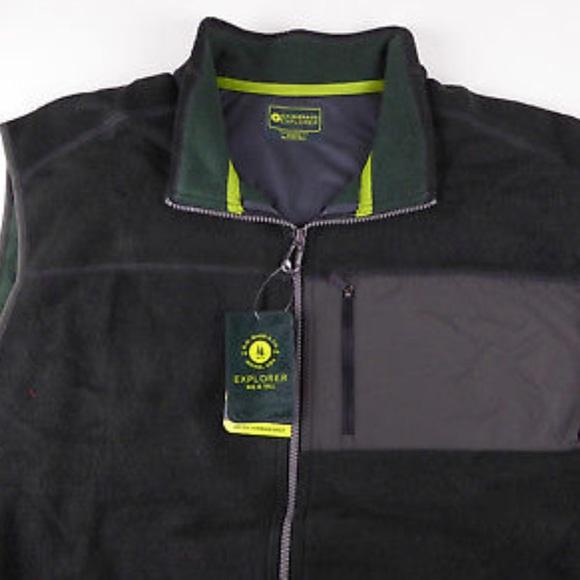 G.H. Bass & Co Other - G.H. Bass & Co Explorer Fleece Vest Full ZIP NWT